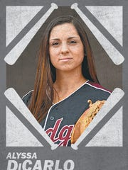 INF - Alyssa DiCarlo - Sr. - Glendale Mountain Ridge | Big Schools POY and three-time All-Arizona. Will take her mighty bat to Georgia for college after tearing up Arizona pitching to the tune of 11 home runs and a .652 average, which led Division I.