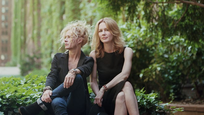 """Sisters Shelby Lynne, left, and Allison Moorer finally sing together on a full album with """"Not Dark Yet."""""""