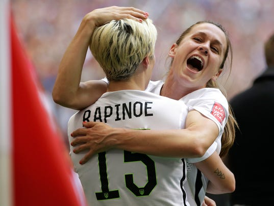 Megan Rapinoe, Heather O'Reilly