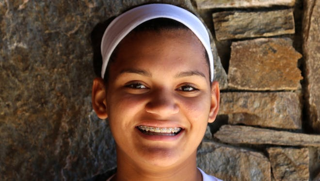 Carolina Day rising junior Amya Giger