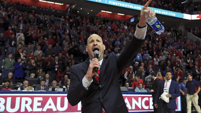 Ole Miss coach Andy Kennedy and the Rebels open conference play against Kentucky on Dec. 29.