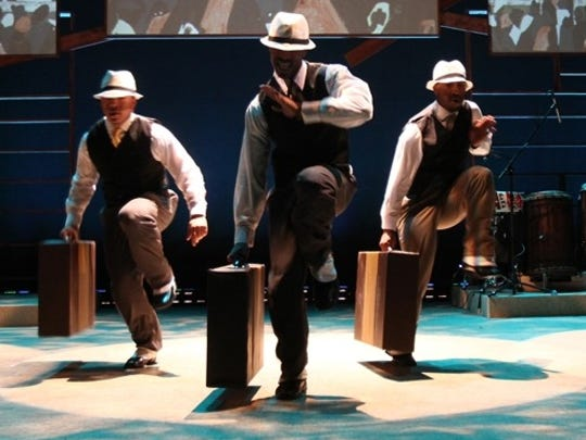 Step Afrika! performs at the Strand.