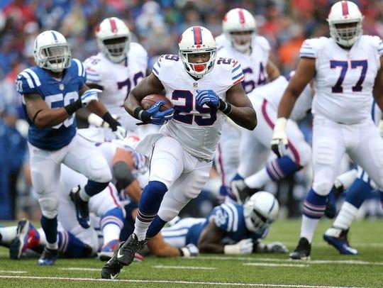 Former Bills running back Karlos Williams may have