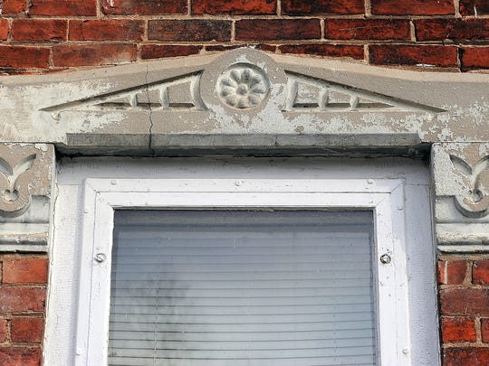 Stone window treatment's adore the exterior of the