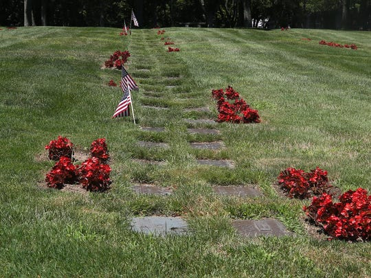 The Ferncliff Cemetery in Hartsdale July 19,  2018.