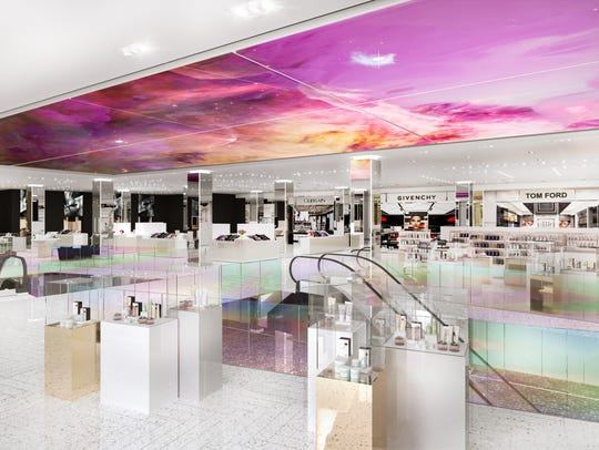 Saks new floor dedicated to beauty will eventually