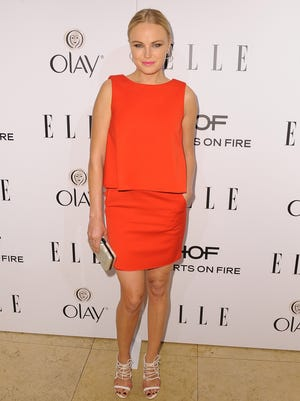 Malin Akerman attends ELLE's Annual Women in Television Celebration on Jan. 22, 2014 in West Hollywood, Calif.