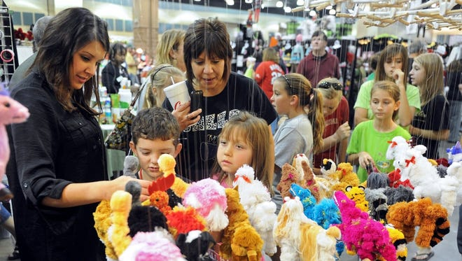 More than 200 vendors will fill the MPEC Exhibit Hall for Hangar Holiday, a fundraiser for the Sheppard Officers Spouses Club.