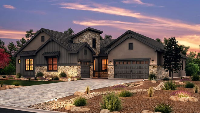 The Spruce model home offers 3,500 square feet in the high-end Pine Bluff community, the first new neighborhood at Caughlin Ranch since 2005.