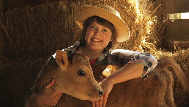 "Inga Witscher of ""Around The Farm Table"" has a small organic dairy farm near Osseo. She will speak Jan. 19 at the Garden Visions Conference in Wausau."