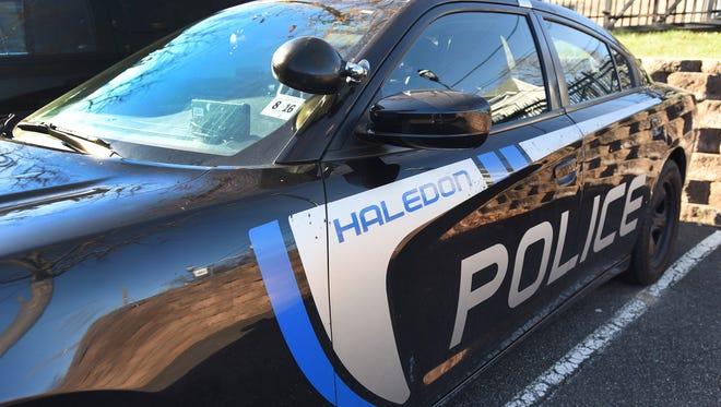 Haledon Police Department patrol car.
