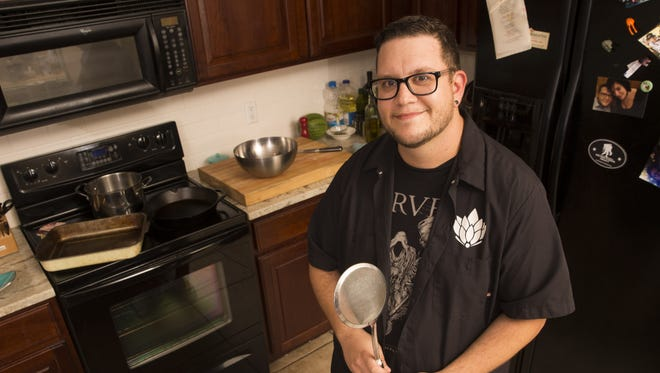 Jordan Urnovitz, winner of the fourth annual Top Home Chef competition.