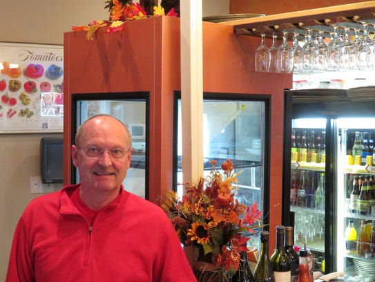 Sam Schuepbach is the owner of Aladdin's Natural Eatery