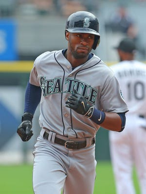 Austin Jackson hit .272 with eight homers and 38 RBI in 107 games with Seattle this season.