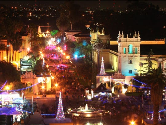 11.22Don't miss December Nights in Balboa Park, courtesy Joanne DiBona and S