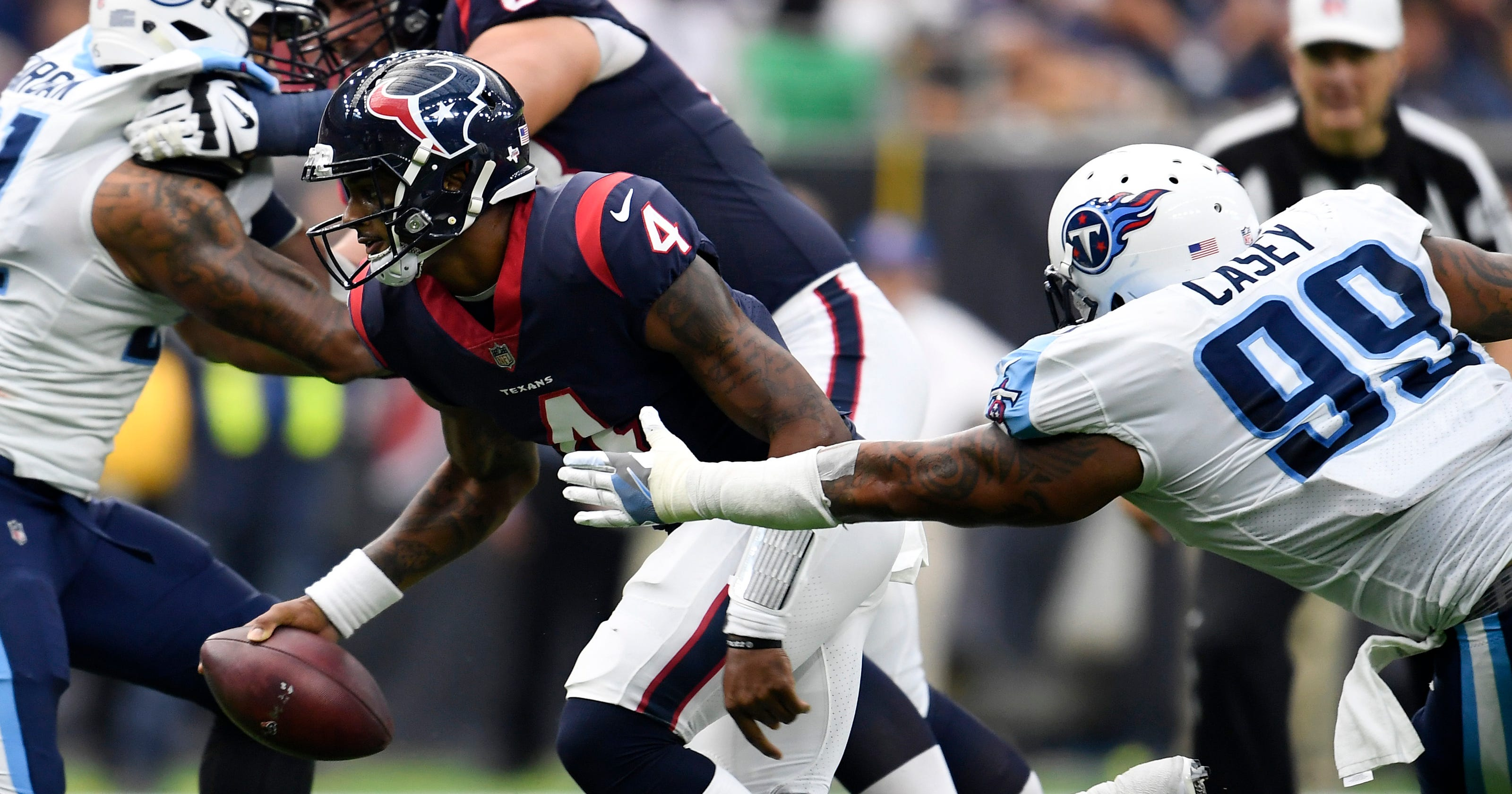4fca25dc4 Titans vs Texans: Deshaun Watson focus for Tennessee