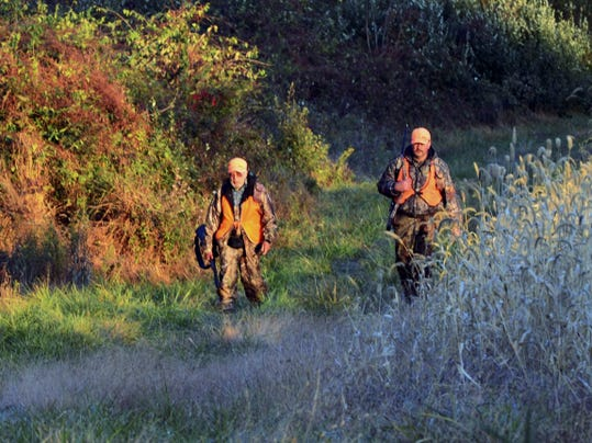 A father and son create a 'remember when' hunting moment.