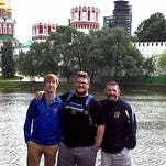 Lakewood wrestler trains in Russia