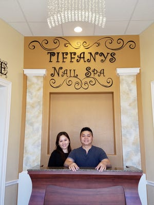 Jimmy and Rae Ann Nguyen own Tiffany's Nail Spa.  Owners:
