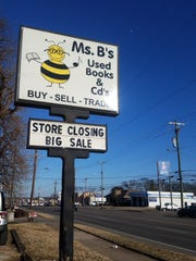 Ms. B's Used Books and CDs in Hendersonville is closing after 15 years.