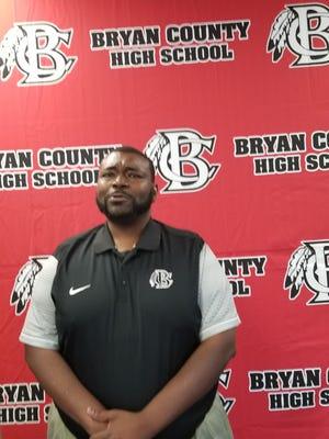 Bryan County High School girls basketball coach Mario Mincey.