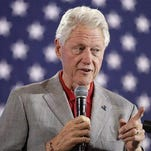 Bill Clinton urges Nevadans to vote, win over Trump backers