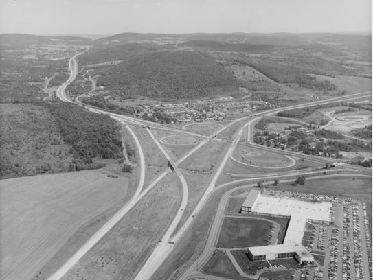 The local beginnings of Interstate 81 were at Five