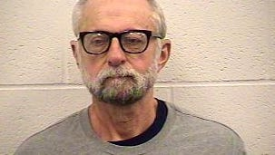 A recent mugshot of Bob Due, booked into the Kenton County Detention Center Jan. 13