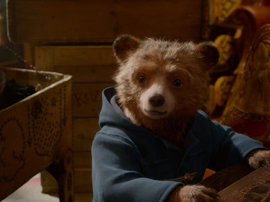 "Paddington (voiced by Ben Whishaw) in the family adventure ""Paddington 2,"" which opens Jan. 12."