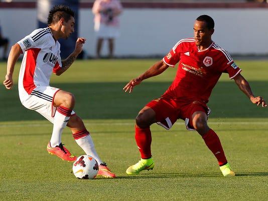 MLS: U.S. Open Cup-New England Revolution at Richmond Kickers