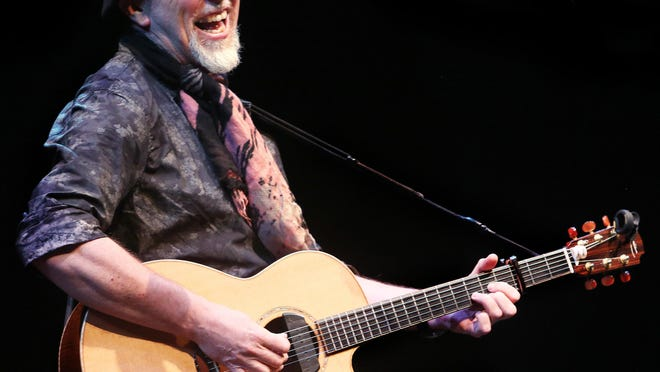 Kati Schardl writes a love letter to world renowned guitarist Richard Thompson, shown here when he was last in Tallahassee for Opening Nights in 2013.