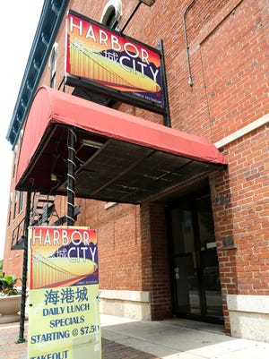 Harbor City restaurant Wednesday, July 6, 2016, at 220 Columbia Street in downtown Lafayette. The Chinese restaurant has been closed after health inspectors found cockroaches and maggots in the kitchen.