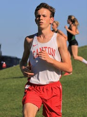 Grinding out another winning effort is Canton cross