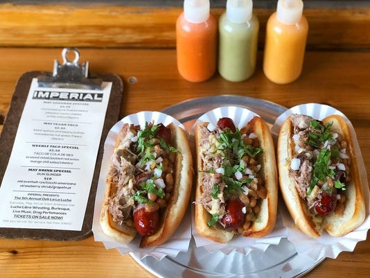 Hot dogs are getting their day in the sun at pop-ups, food