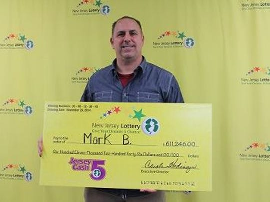 Mark, 56, won $611,246 on a ticket bought at 7-Eleven, 801 Ocean Ave., Belmar.