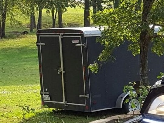 Cargo trailer that was stolen