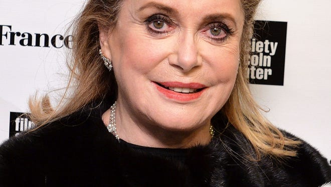 Actress Catherine Deneuve at a 2014 Rendez-Vous with French Cinema event at New York's Paris Theater on March 6, 2014.