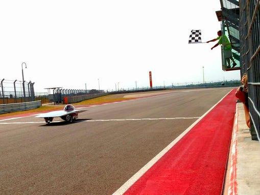Solar Car Race Austin Texas