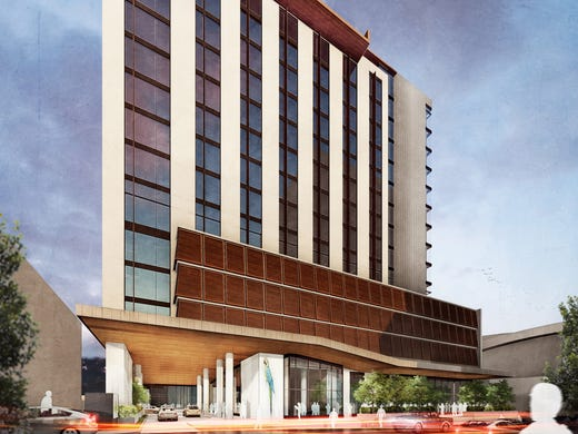 14-story Margaritaville Hotel planned for Nashville's SoBro