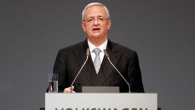 CEO Martin Winterkorn has apologized for breaking public trust.