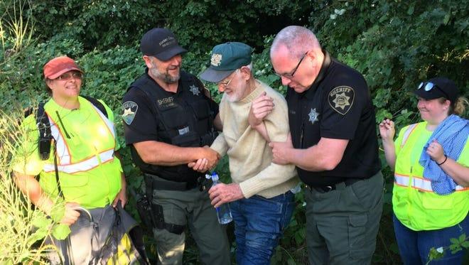 Gerald Gibson was found Monday evening.