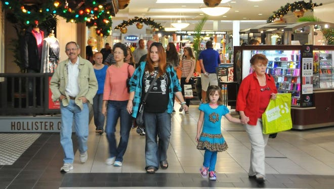 Black Friday starts Thursday evening for serious bargain hunters, but many shoppers were out Friday looking for bargains at the door busters. Melbourne Square mall was busy all day long with shoppers.