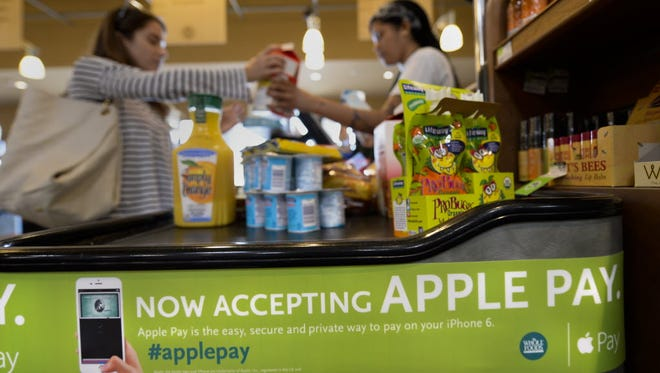 A Whole Foods shop in El Segundo, Calif., was among the first national outlets to accept Apple Pay when the Cupertino company's mobile payments system went live a few weeks ago.
