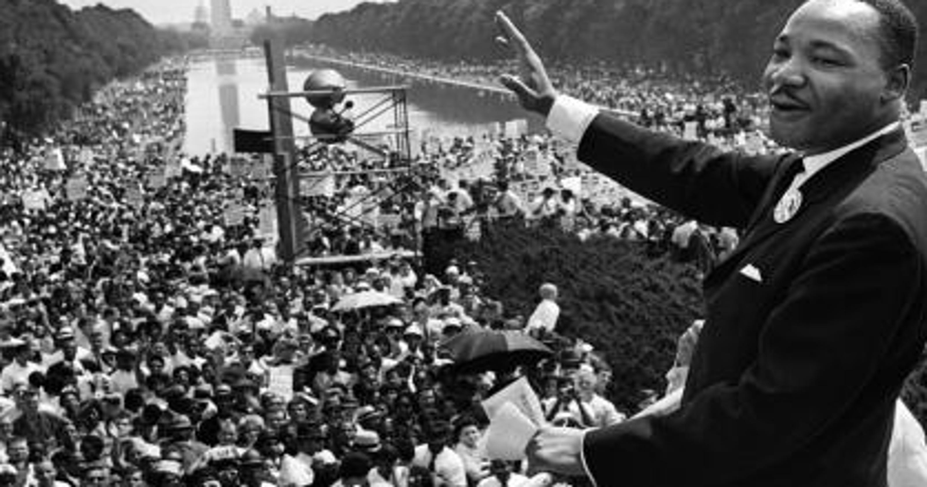 Early recording found of Martin Luther King Jr.'s 'I have ...