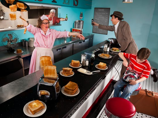 TOAST! by Mike Ricciardi was shot at Elsie's Diner in downtown Binghamton.