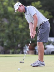 Kevin Crane, who played golf collegiately, has been a regular in the championship flight of San Angelo's annual partnership tournaments in recent years.