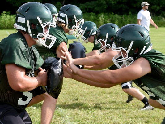 Northridge football practice