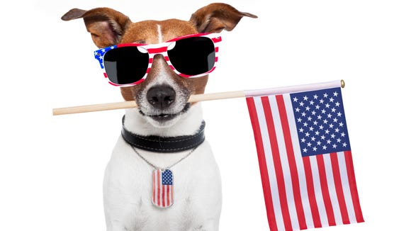 Find out whether you'll need shades this July 4.