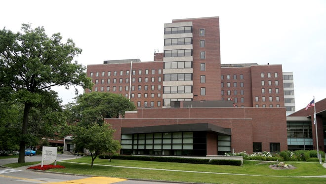 Exterior of Beaumont Oakwood Hospital Campus in Dearborn in July 2015.