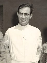 Father Louis Brouillard is shown in an undated photo